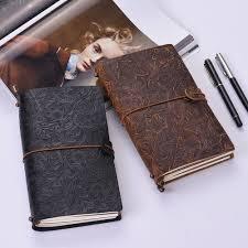 Kraft Paper Journal Refillable Travelers <b>Notebook</b> Vintage Antique ...