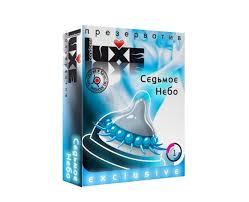 <b>Презервативы Luxe</b> №1 <b>Седьмое Небо</b> INS283. Цена 205р ...