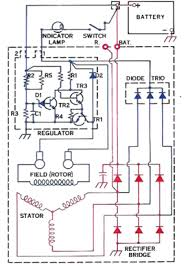 alternator internal wiring diagram alternator 10si and 15si type 116 136 alternator repair manual on alternator internal wiring diagram