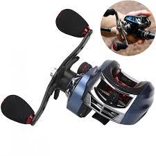 <b>17</b>+<b>1BB High</b> Speed 7.2:1 Gear Ratio Fishing Bait Casting Reel ...
