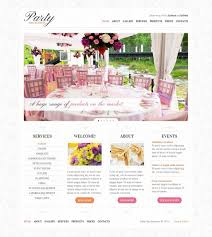 event planners website template event planners website
