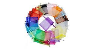Wedding Party Favor <b>Organza</b> Xmas <b>Jewellery</b> Pouches Gift Candy ...