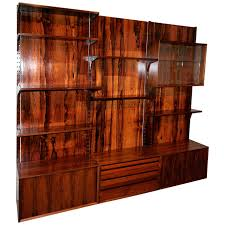 brazilian jacaranda shelving unit mid century modern shelving dering hall brazilian wood furniture
