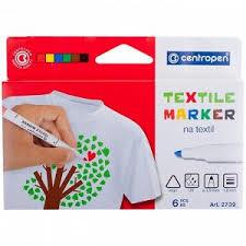 """<b>Набор</b> маркеров для ткани <b>Centropen</b> """"2739"""" 06цв., картон. уп ..."""