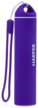 <b>Внешний аккумулятор Harper PB-2602</b> purple купить в интернет ...