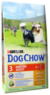 <b>Dog Chow Mature</b> with Chicken