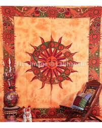 Small Picture Astrology Wall Hanging Indian horoscope Tapestry ethnic Home decor