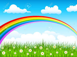Image result for rainbow in the sky picture