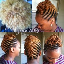 Natural Twist Hairstyles Blondie Flat Twist Updo Makin My Livin Pinterest Flat
