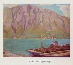 painting as a pastime by winston s churchill from project by lake lugano