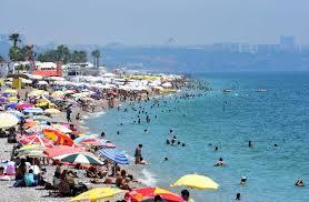 Antalya'da nem oranı yüzde 70'e yükseldi