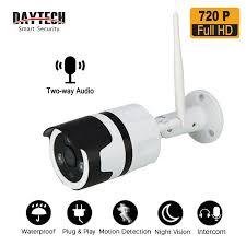 <b>DAYTECH</b> Outdoor <b>IP</b> Camera CCTV 720P/1080P HD <b>WiFi Wireless</b> ...