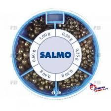 <b>Грузила Salmo ДРОБИНКА PL</b> 6 секций крупные 120г набор ...