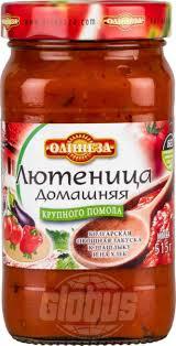Овощная закуска <b>Лютеница</b> домашняя Олинеза крупного помола ...