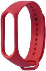 <b>Ремешок</b> Xiaomi Mi Band 3/4 Strap <b>Red</b> - купить <b>аксессуар</b> для ...