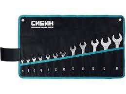<b>Набор ключей Сибин 6</b> 32mm 12шт 27013 H12 - Чижик