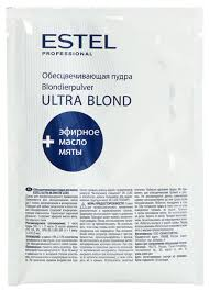 <b>Estel</b> Professional De Luxe <b>пудра для обесцвечивания</b> волос Ultra ...