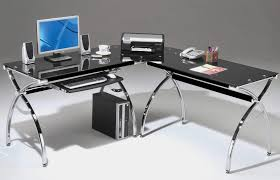 office well integrated l shaped corner computer desk with x legs bathroomoutstanding black staples office furniture lshaped