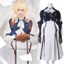 <b>Violet Evergarden Cosplay Costume</b> Auto Memories Doll Outfit ...