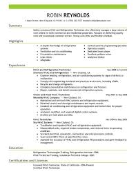 hvac technician resume sample resume hvac sales sample resume happytom hvac technician sample resume
