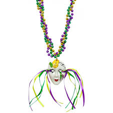 mardi gras beads party supples whole to the public mardi gras mask on braided necklace