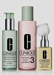 <b>Clinique 3 Steps</b> system for Oily/Oily Combination Skin <b>Set</b>