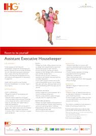 hotel vacancies in careers at intercontinental assistant housekeeper