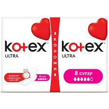<b>Прокладки</b> женские <b>гигиенические</b> Kotex Ultra сетч супер <b>16шт</b>