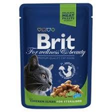 Купить корм <b>паучи Brit</b> (Брит) для кошек в интернет-магазине ...