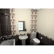 <b>Бордюр Golden</b> Tile «Вельвет» 25х6 см цвет коричневый в ...