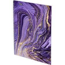Бизнес-тетрадь <b>Attache Selection</b> Fluid A4 96 листов фиолетовая ...