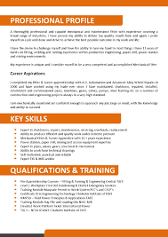 resume example cv template excellent resume template resume example mechanical and maintenance fitter resume template excellent resume template 55 cv template