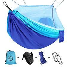 Camping Hammock with Net Mosquito, Parachute ... - Amazon.com