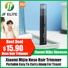 Xiaomi Mijia Portable <b>Showsee Electric Mini</b> Nose Hair Trimmer ...