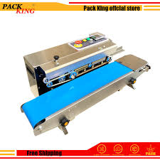 Continuous Sealer Sealing <b>Machine</b> Film Impulse Sealer Plastic ...
