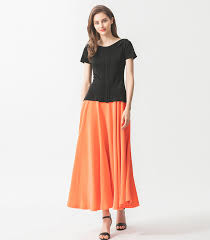 Женская футболка VOA B9127, черная классическая шелковая ...