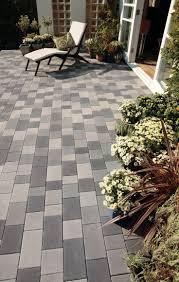 patio slab sets: bradstone block paving stonemaster granite grey look mixed sizes packs