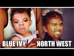 Blue Ivy and North West on Pinterest | North West, Blue Ivy and ... via Relatably.com
