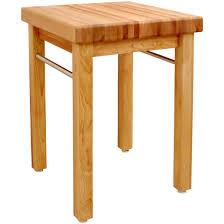 small square kitchen table:  simple butcher block kitchen table