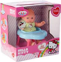 Игрушка КАРАПУЗ <b>Пупс Hello Kitty</b> 10см,с акс. 182324 – купить в ...