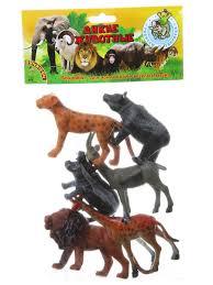 """<b>Набор</b> животных """"Ребятам о Зверятах. Дикие животные, 5 ..."""