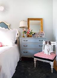 cat proof furniture bedroom shabby chic style with white side chair upholstered headboard chic cat furniture