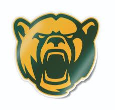 Baylor University <b>Bear Head</b> New Logo <b>Car Decal</b> – Nudge Printing