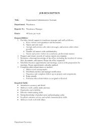 Administrative Assistant Description  administrative assistant job     happytom co office assistant duties   Template   administrative assistant description