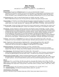perfect programmer and audio engineer resume example work fullsize by barry glen perfect programmer and audio engineer resume