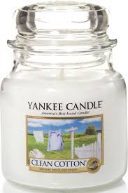 "<b>Ароматическая свеча</b> Yankee Candle ""Чистый хлопок / Clean ..."