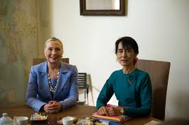 est some photos aung san suu kyi  myanmar s aung san suu kyi to us next week voanews com a myanmar leader aung san suu kyi to us next week 3495502 html