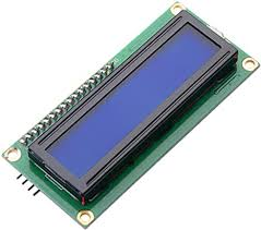 MUZOCT IIC/I2C/TWI <b>1602</b> Serial <b>Blue Backlight LCD</b> Module for ...