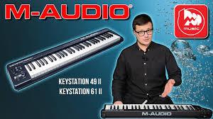 <b>M</b>-<b>AUDIO KEYSTATION</b> 49 II + <b>M</b>-<b>AUDIO KEYSTATION</b> 61 II