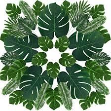 Artificial Palm <b>Leaves Tropical Plant</b> Palm <b>Leaves Monstera Leaves</b> ...